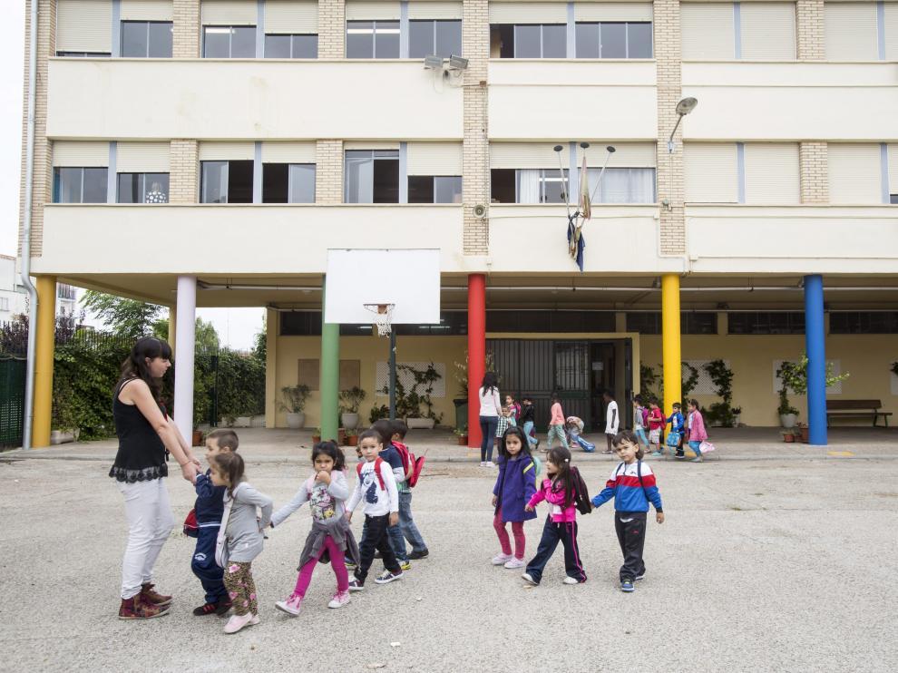 El colegio Ramiro Soláns de Zaragoza