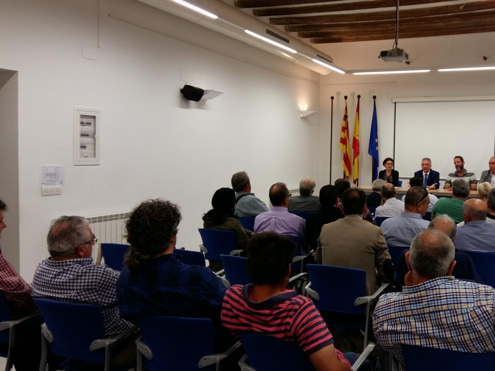 Reunión entre Olona y los alcaldes de los municipios afectados