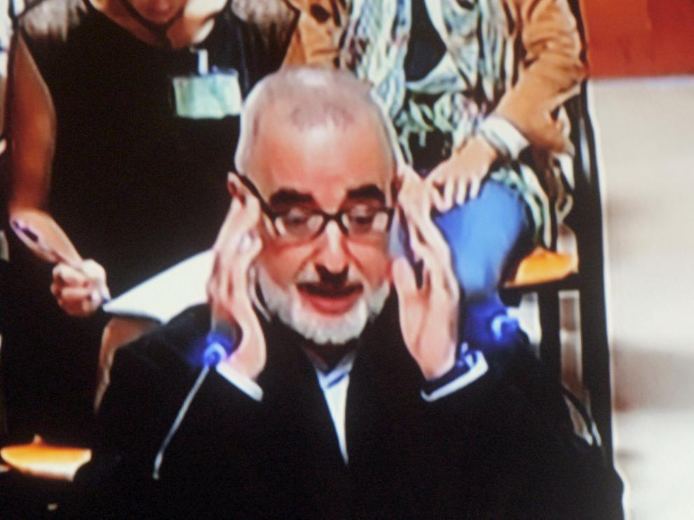Alfonso Basterra durante el juicio, imagen de archivo.