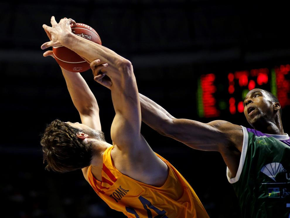 Un momento de la final de la Supercopa de Baloncesto