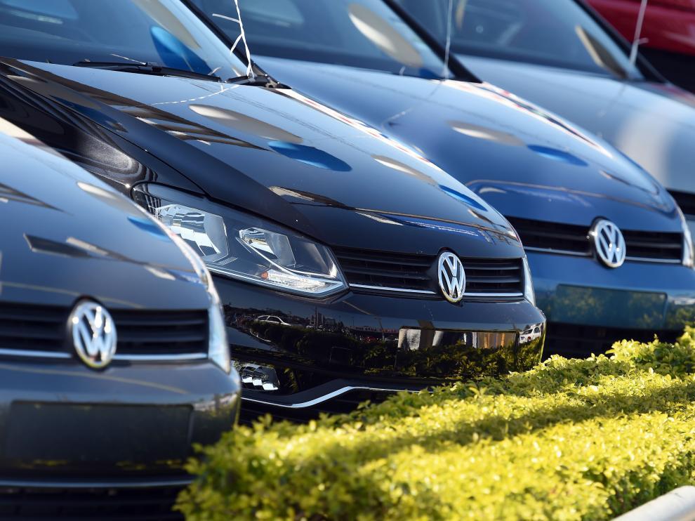 Coches de la marca Volkswagen.