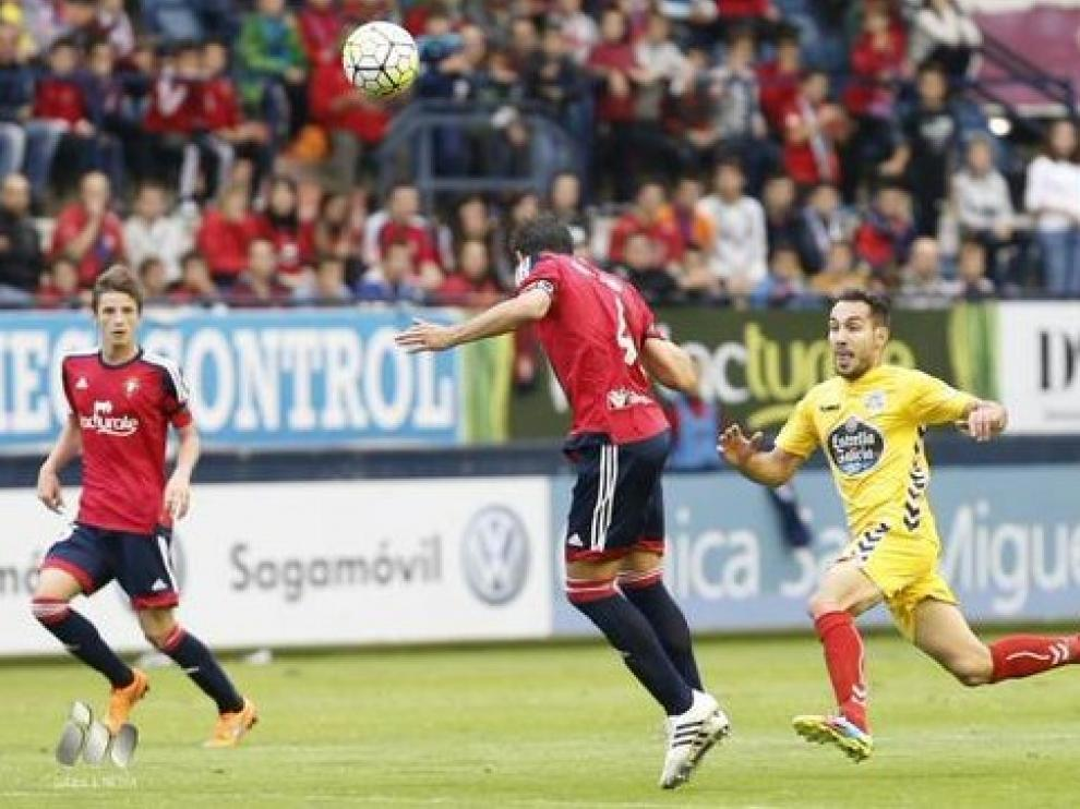 Osasuna consolida su liderato tras golear al Lugo