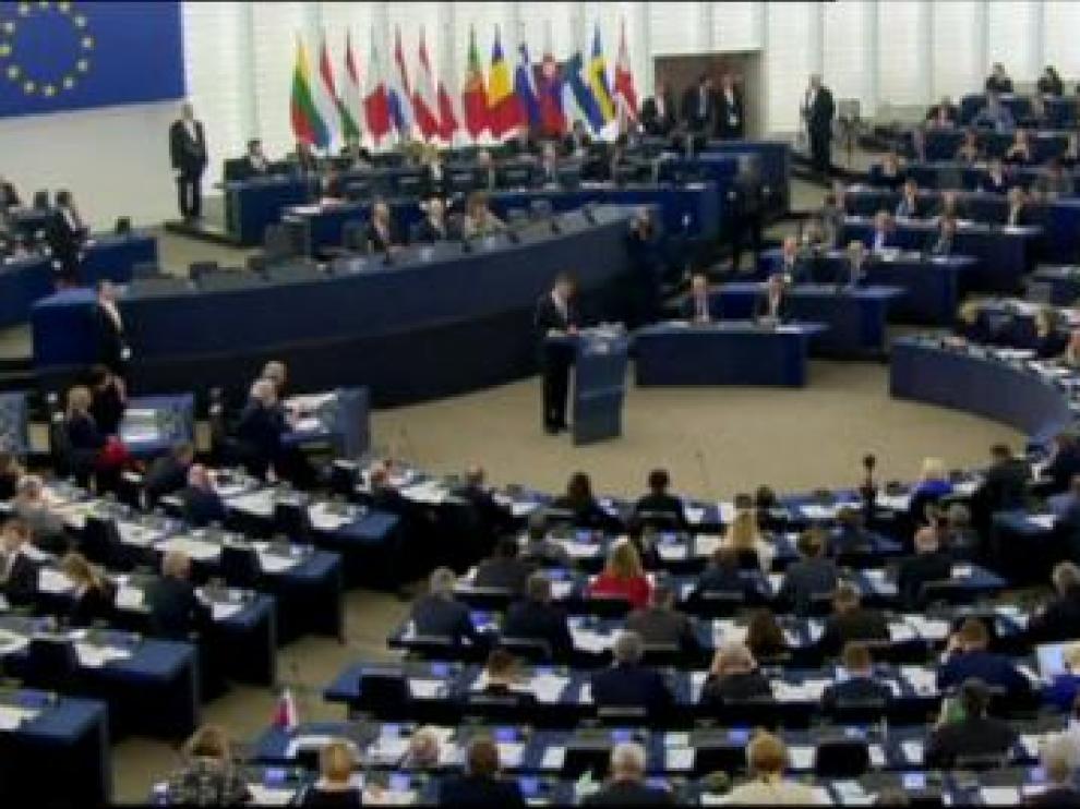 Discurso del rey Felipe VI ante el Parlamento Europeo