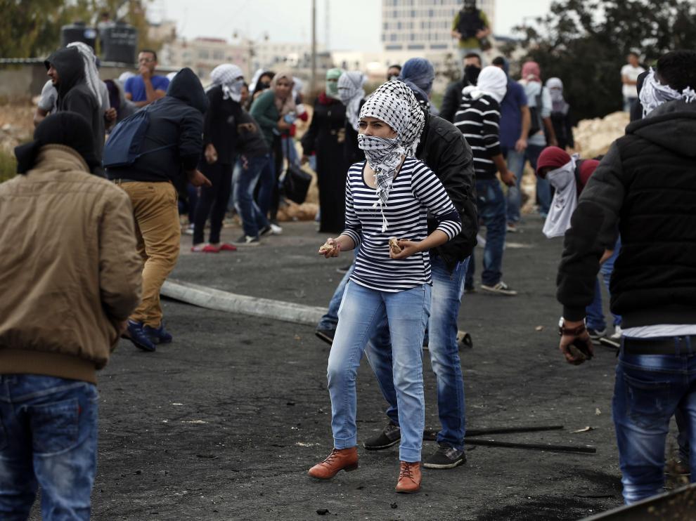La violencia en  Cisjordania y Jerusalén Este se extiende a varios puntos de Israel
