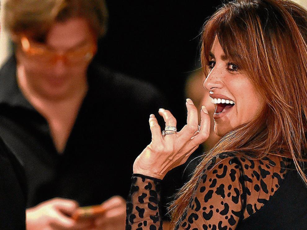 Penélope Cruz presentó ayer en Madrid la película que ha rodado con Julio Medem.