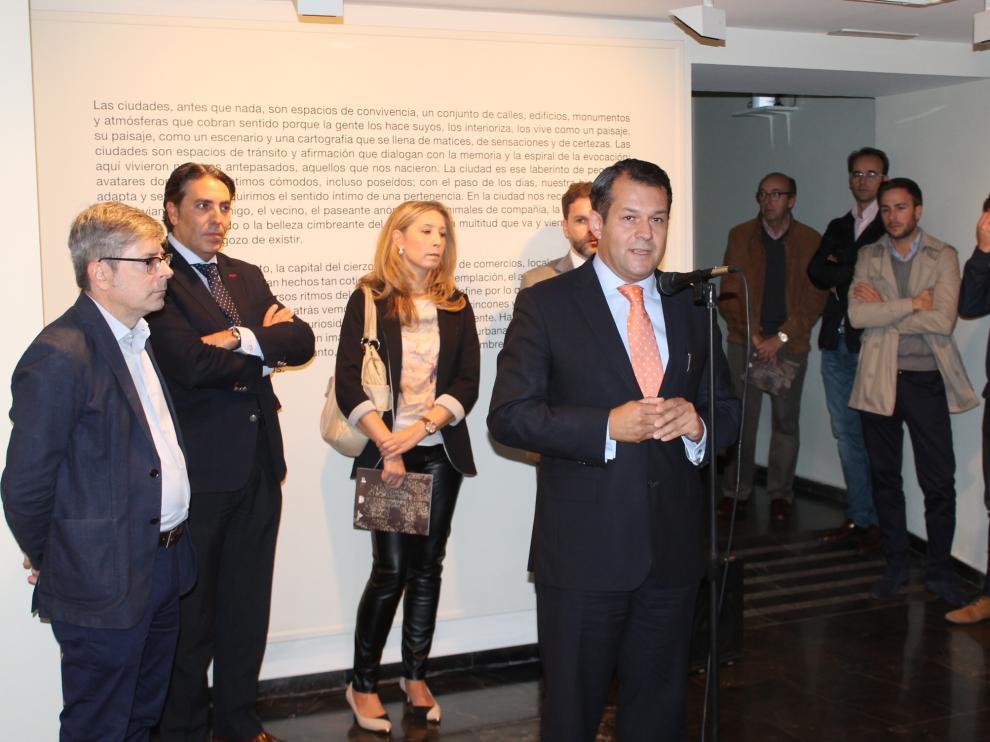 Inauguración de la exposición 'Local Architecture' en la sala Cuarto Espacio Cultural