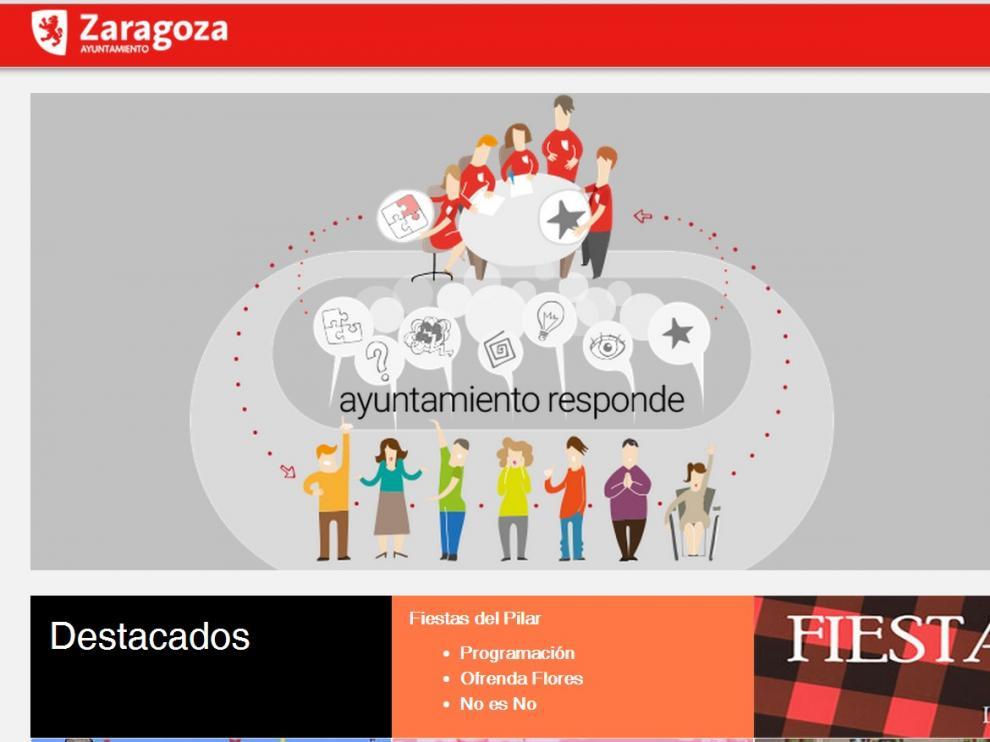 ZeC cambia de cara a la web municipal, más participativa