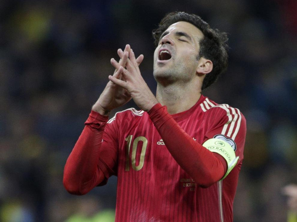 Cesc Fábregas marcó el gol que llevaría a España a las semifinales de la Eurocopa de 2008.