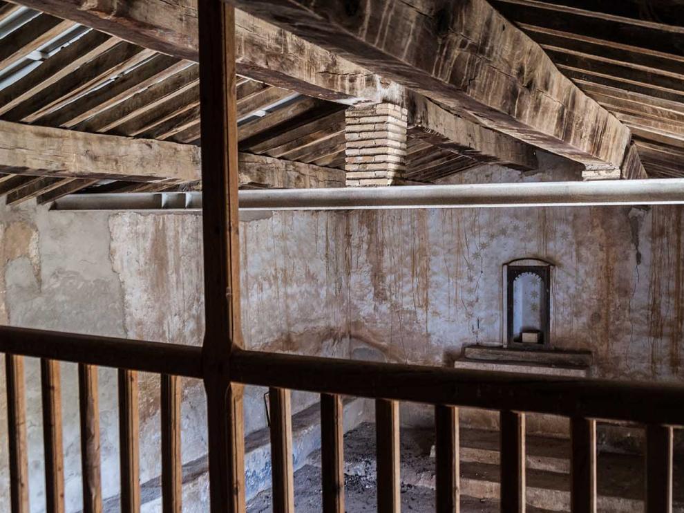Vigas de acero para una ermita del siglo XVI