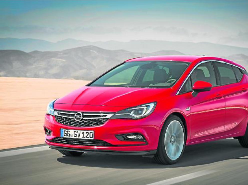 Imagen de archivo del nuevo Opel Astra.