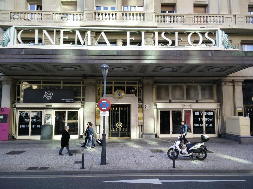 Cine Elíseos en una imagen de archivo.