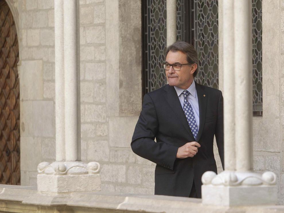 El presidente de la Generalitat en funciones, Artur Mas.