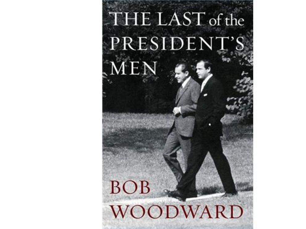 Imagen de la portada del libro del periodista del Washington Post Bob Woodward.