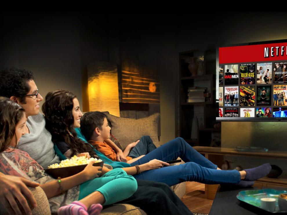 Netflix en una imagen promocional.