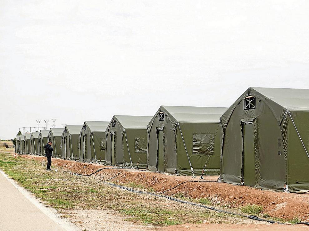 Los militares que participarán en las maniobras de la OTAN se alojarán en los campamentos instalados en la Base y San Gregorio.El resto de enviados, invitados, periodistas y trabajadores de empresas asociadas se intalarán en diferentes hoteles de Zaragoza