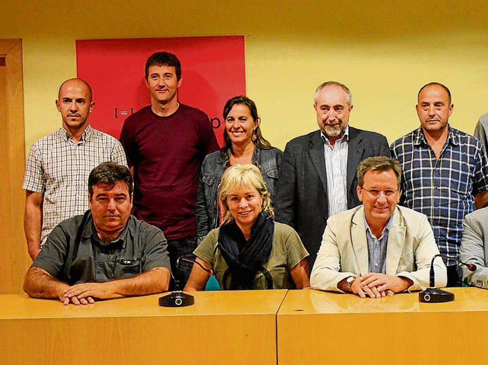 """Los impulsores y los firmantes. Las declaración de apoyo """"a las libertades del pueblo catalán"""" fue impulsada por ERC y CUP, los dos principales partidos independentistas de Cataluña."""