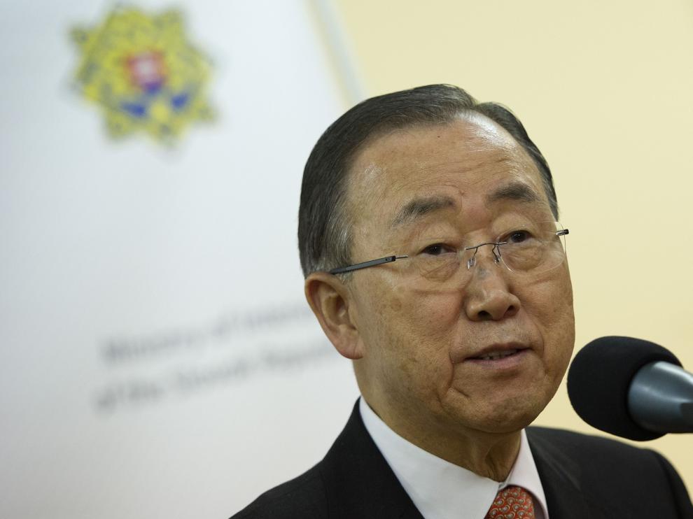 Ban Ki-moon en una imagen de archivo.