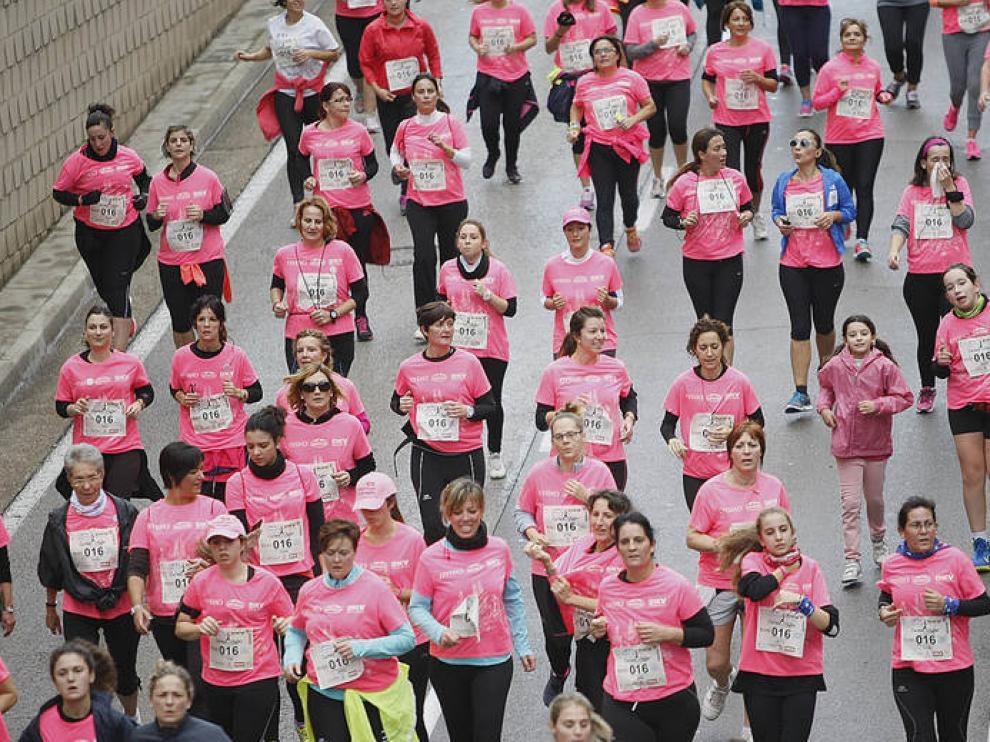 Carrera de la Mujer de Zaragoza de 2014.