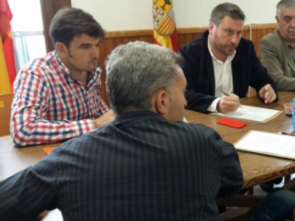 Soro visitó las comarcas turolenses de Gúdar-Javalambre y Maestrazgo.