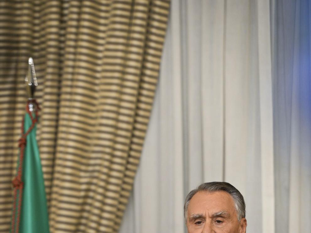 Cavaco Silva en una foto de archivo
