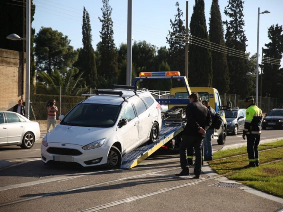El accidente ocurrido a las 15.47.