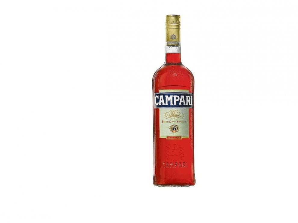 Bitter Campari tiene una graduación de 25 grados alcohólicos.