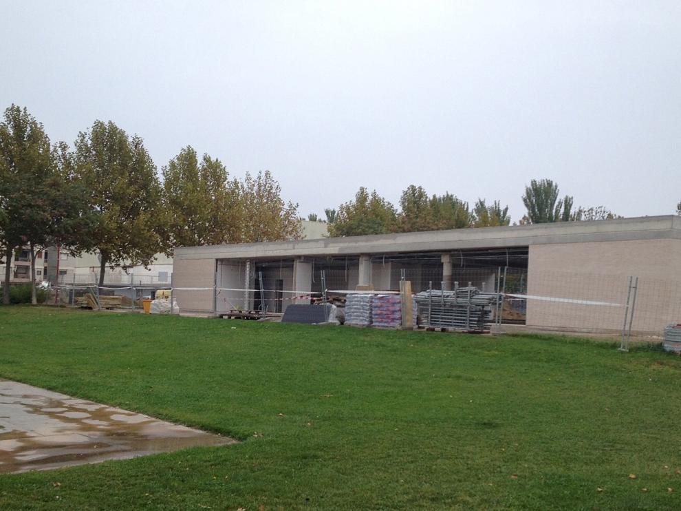 Las obras del Centro Joven de Malpica, en Utebo, ya están en marcha