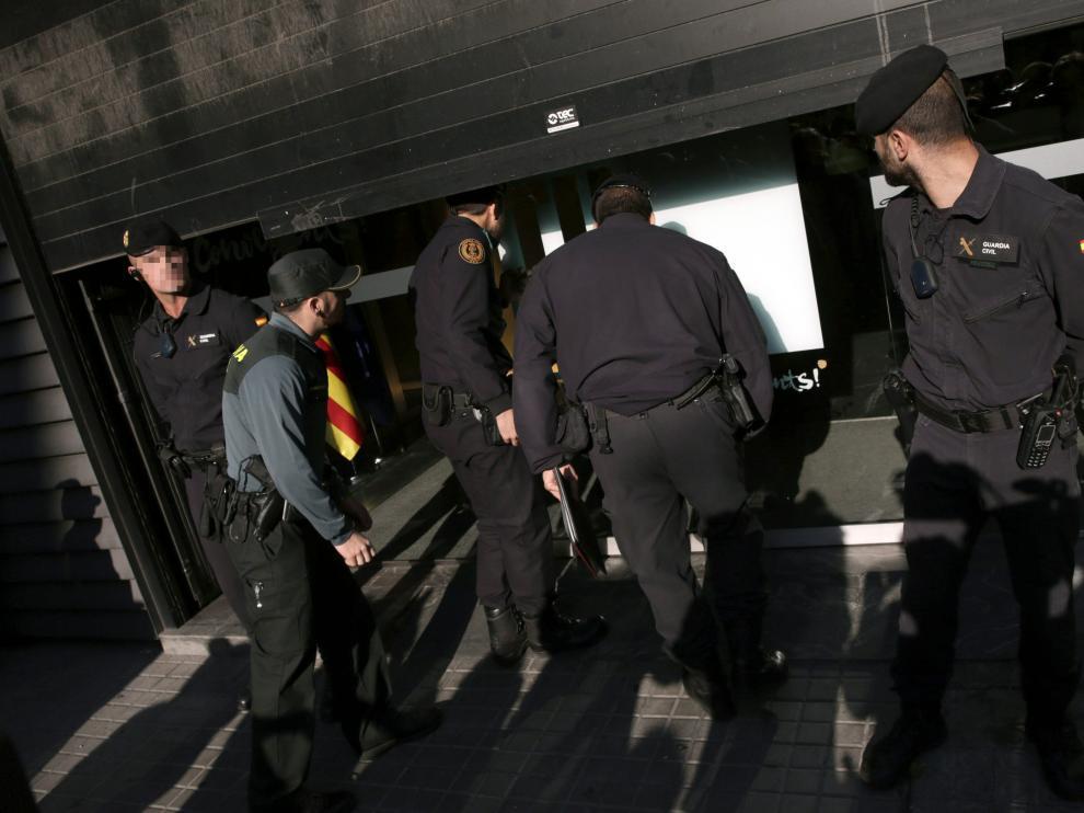 La Guardia Civil han detenido este miércoles al tesorero de CDC, Andreu Viloca.