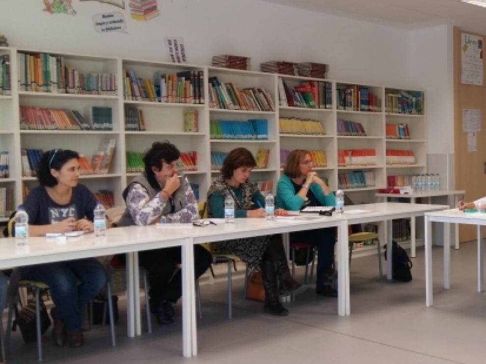 Reunión con los directores de Primaria de la provincia de Zaragoza.