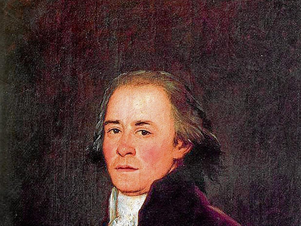 Retrato del poeta Meléndez, que fue del caspolino conde de Quinto.