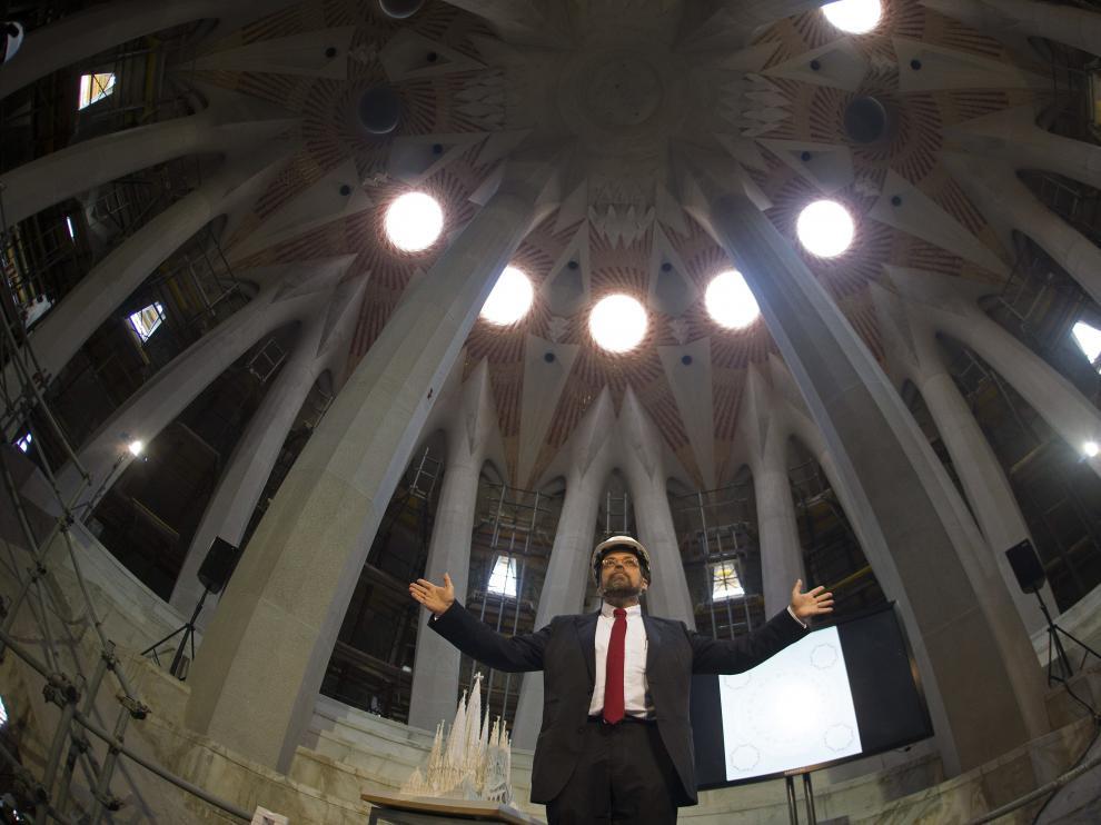 El arquitecto director de la Sagrada Familia, Jordi Faulí.