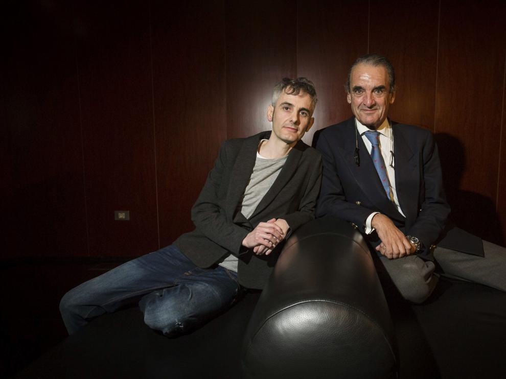 Rubén Alonso y Mario Conde.