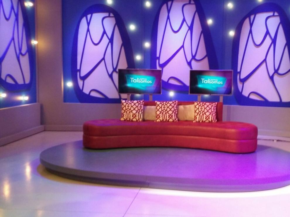 Uno de los modelos de Tapigrama en el programa de televisión 'Tal como somos'.