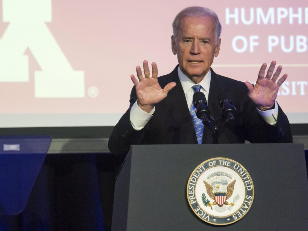El vicepresidente de EE.UU durante un evento en Washington.