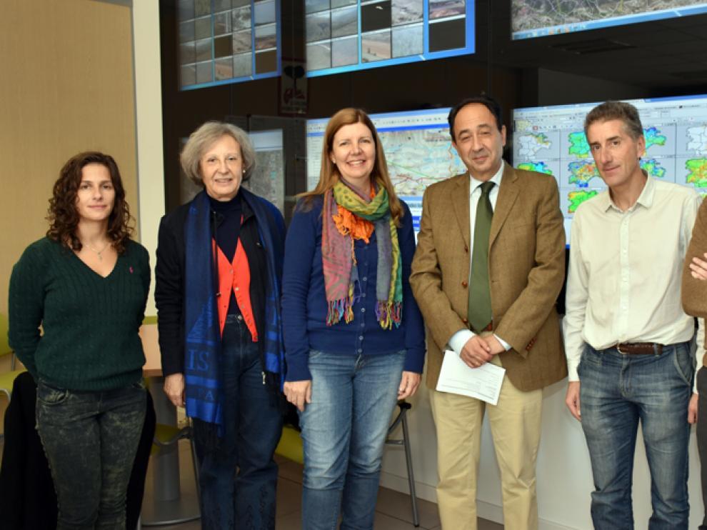 Visita de las representantes de Embrapa al Centro Provincial de Mando