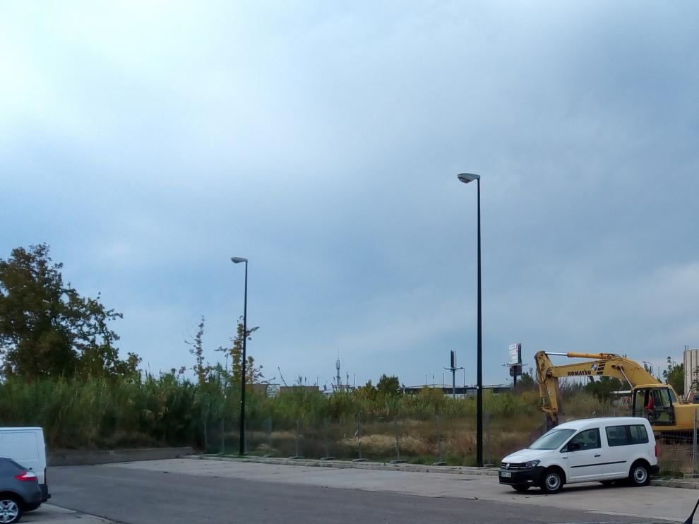 Solar donde se ubicará el nuevo edificio de la avenida Cataluña