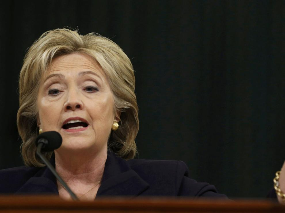 Hillary Clinton ante el Congreso