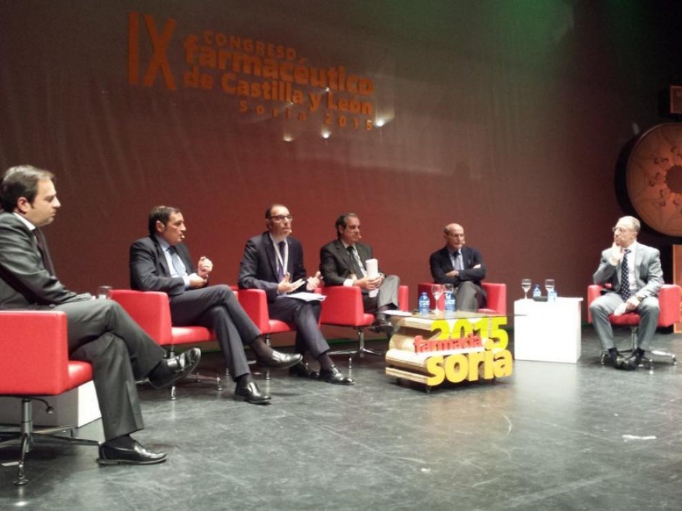 Bengoa, que ha participado en el IX Congreso de Farmacéuticos de Castilla y León que se celebra en Soria,