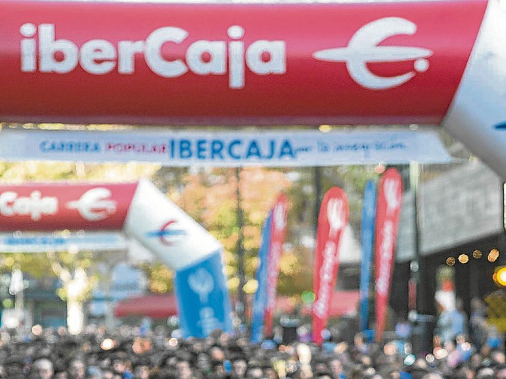 Fotografía de la Carrera popular por la Integración de 2014.