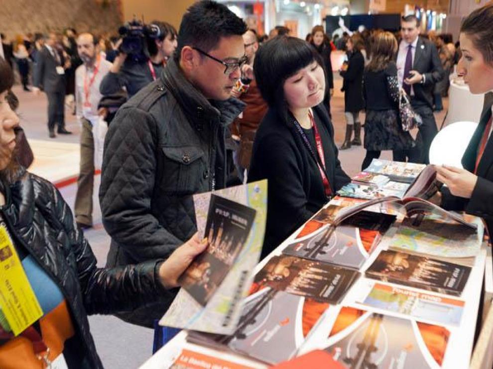 Zaragoza apostó por ganarse al turismo chino en la última edición de Fitur.