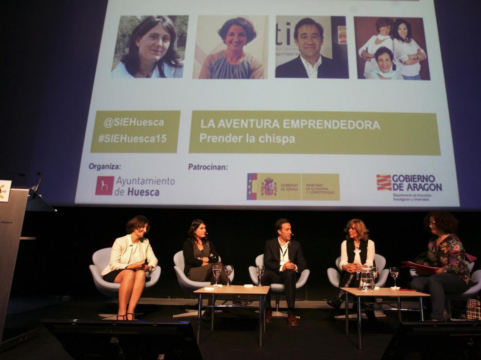 El presente y el futuro de la empresa se dan cita en Huesca
