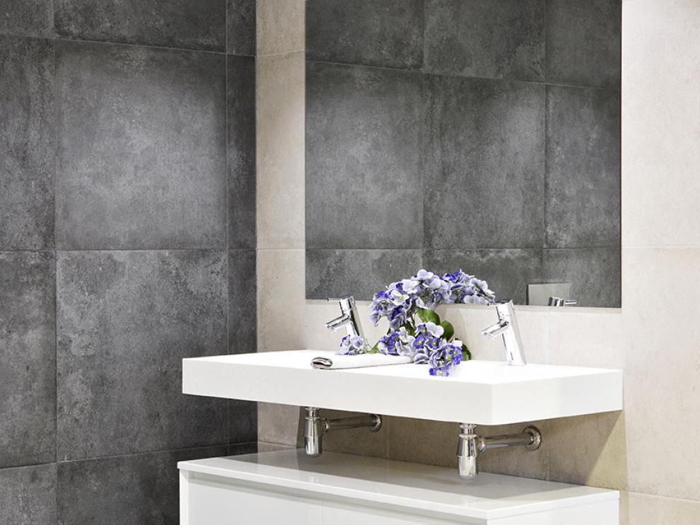 Diseño de uno de los baños.