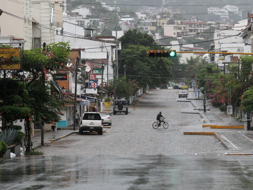 MÉXICO HURACANES PACÍFICO