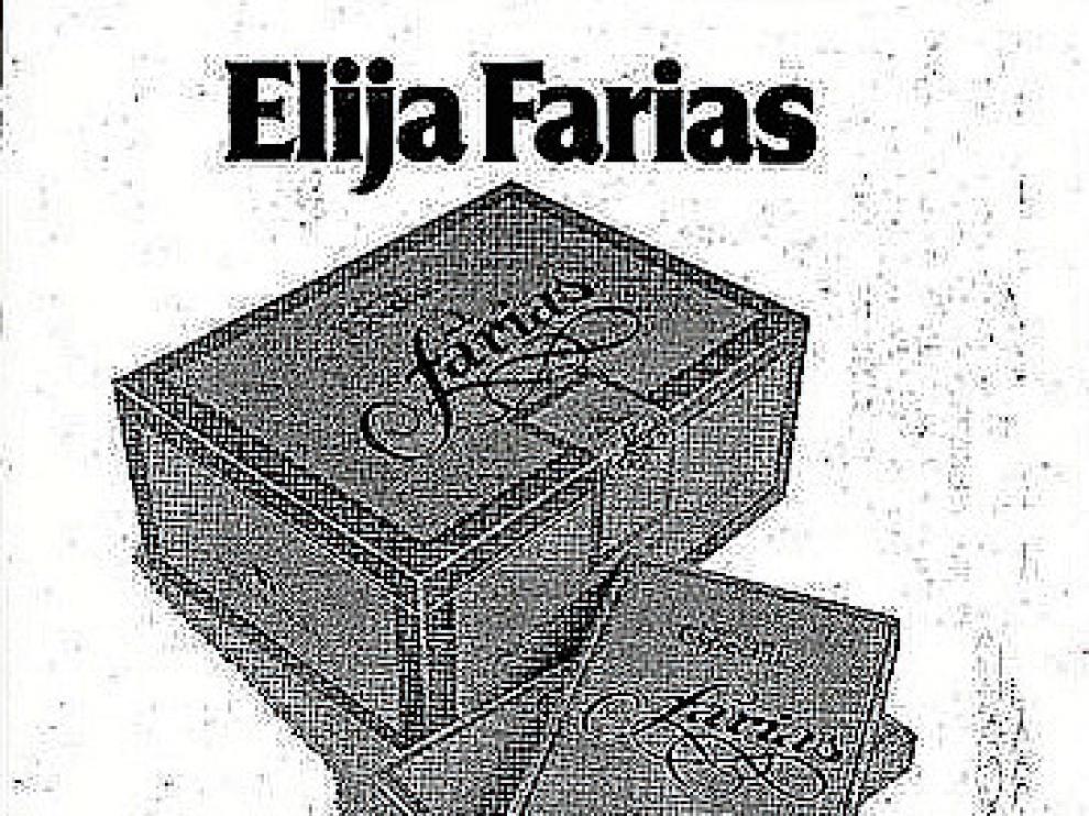 Antiguo anuncio de Farias insertado en los periódicos.
