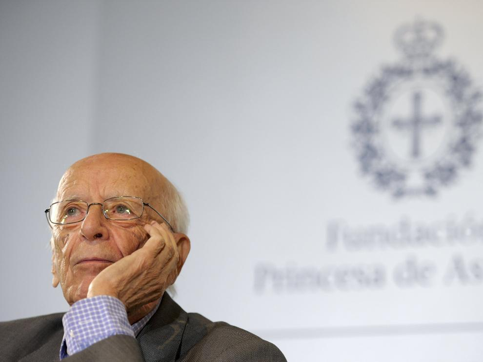 Emilio Lledó, premio Príncipe de Asturias de Humanidades