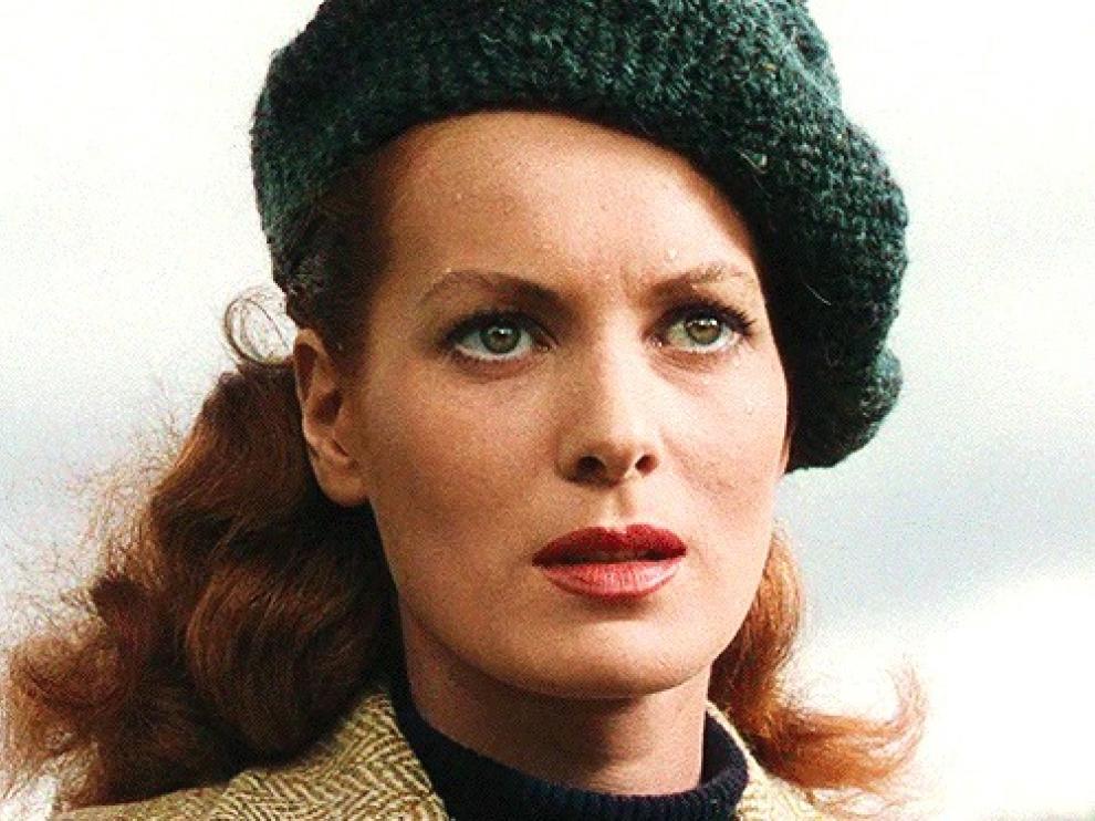 Una foto de archivo de Maureen O'Hara.
