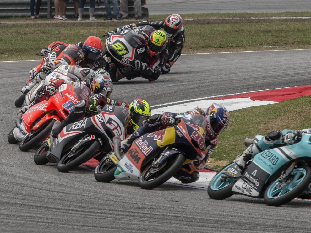 Clasificación de la carrera y del Mundial de Moto3