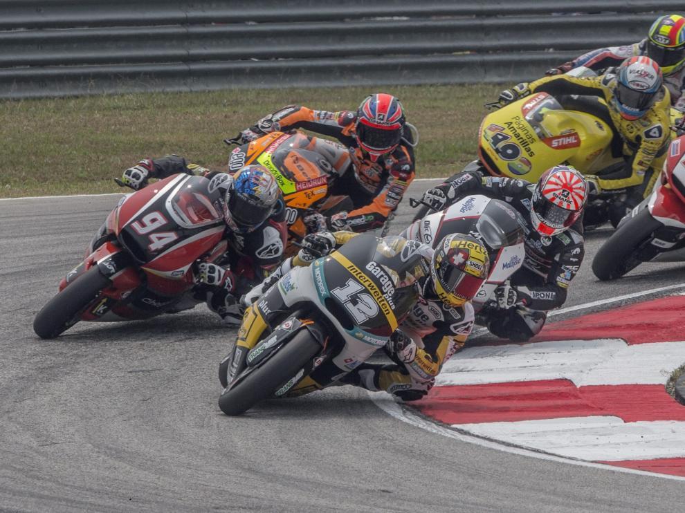 Clasificación de la carrera y del Mundial de Moto2