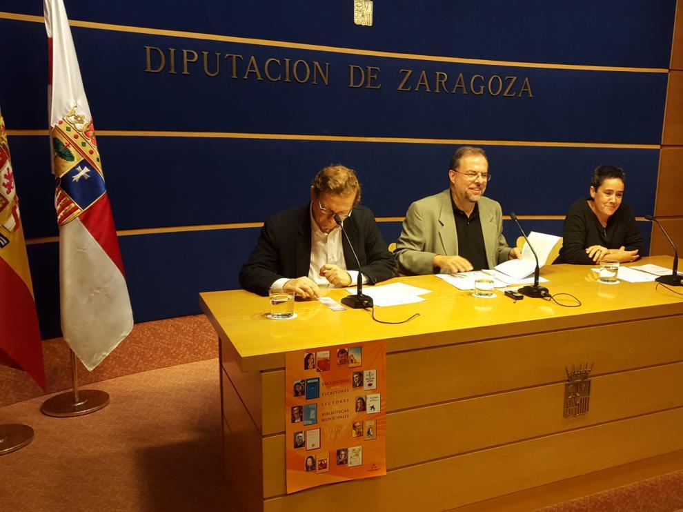 Presentación de la iniciativa en la sede de la DPZ de la capital aragonesa.