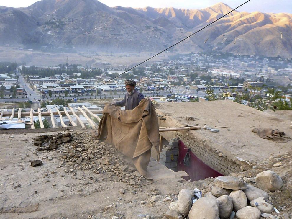 Imagen del terremoto en Afganistán